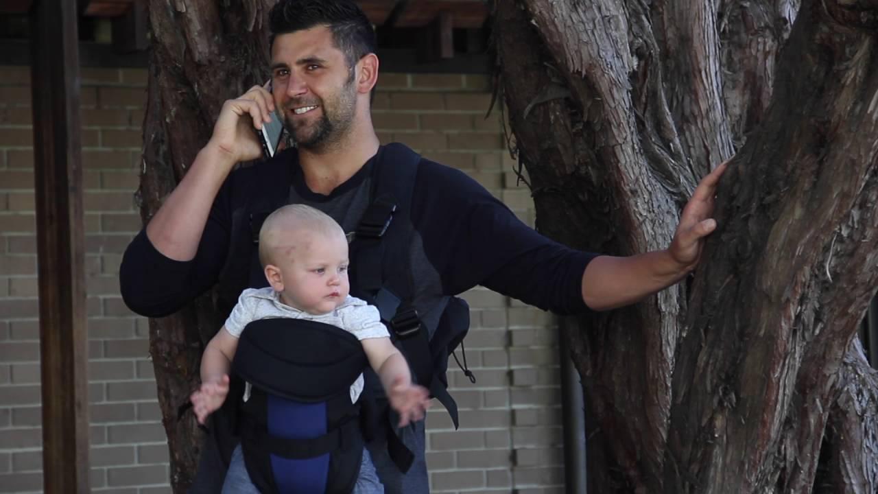 tactical dad kickstarter tactical baby carrier diaper bag youtube. Black Bedroom Furniture Sets. Home Design Ideas