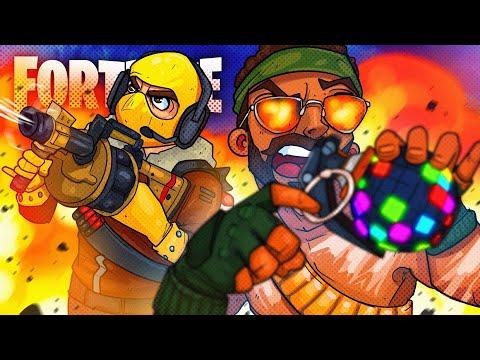 Winning Only Using Explosives Challenge! - Fortnite Battle Royale!