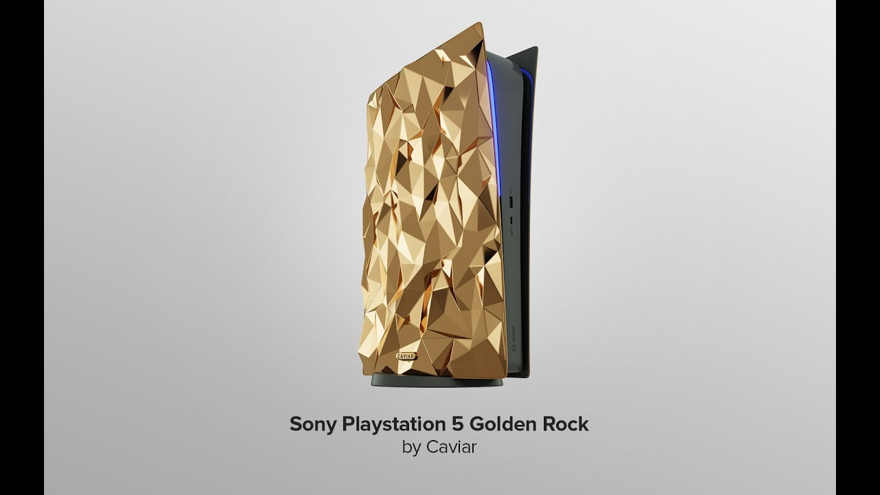 Gold Sony Playstation 5 Golden Rock will cost $ 499 000.