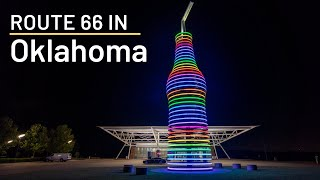 Route 66 Road Trip Stops in Oklahoma