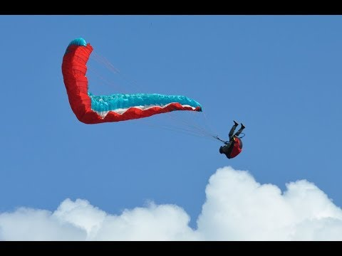 PARAGLIDING CRaSH !!!not for the faint of heart!!!