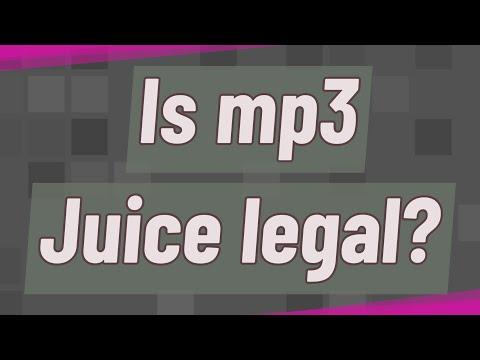 Is mp3 Juice legal?
