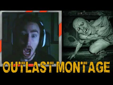 Outlast - Scare & Reaction Montage