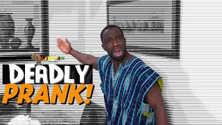 Download Clifford Owusu Comedy - In An African Home: Deadly Prank‼️😵⚰️ (Clifford Owusu)