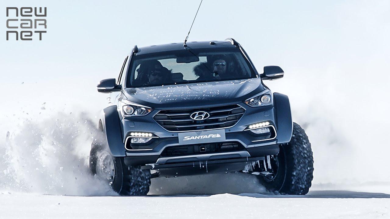 Newcarnet Hyundai Santa Fe Makes History In Antarctica
