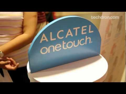 Alcatel One Touch Cebu Launch - Alcatel One Touch 995, Glory and Blaze