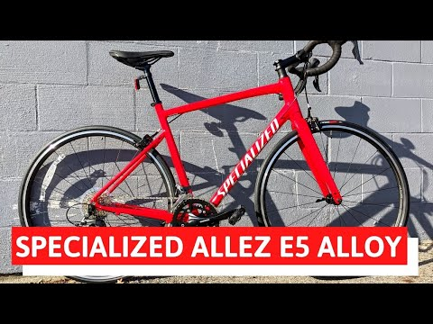 Affordable Speed - 2020 Specialized Allez E5 Aluminum Road Bike Feature Review and Weight