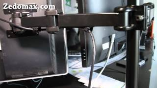 Dual LCD Desk Mount Review!