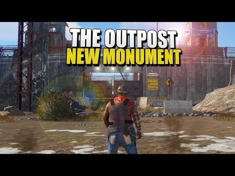 THE OUTPOST - New Rust Monument