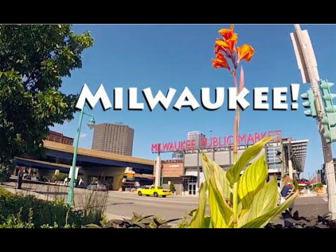 Milwaukee, WI ~ Cheese, Basilica, Market, & Lake Michigan!