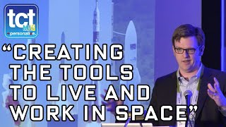 3D Printing In Space | Andrew Rush | Made In Space | CES 2016