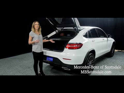 Sleek And Sporty The 2018 Mercedes Benz Glc 300 4matic Coupe From