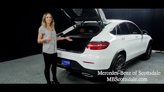 Sleek and Sporty - The 2018 Mercedes-Benz GLC 300 4MATIC Coupe from Mercedes Benz of Scottsdale