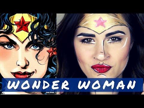 WONDER WOMAN Pop art / Comic book - Halloween 2016