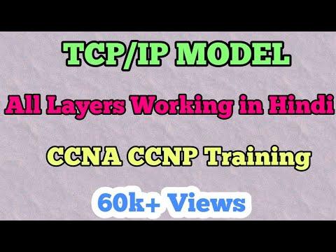 TCP/IP Model All Layers Working In [hindi/Urdu]   TCP IP Model Tutorial !!!