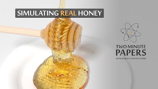 Transferring Real Honey Into A Simulation