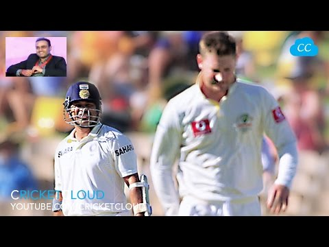 UNTOLD Story by Sehwag about Australians Sledging SACHIN !!