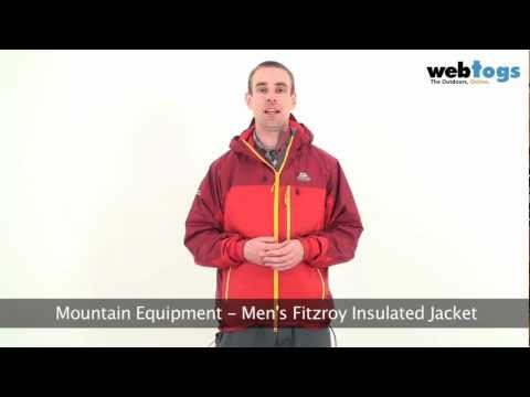 Mountain Equipment Men's Fitzroy Insulated Jacket - Synthetic Insulation, Warm Even When Wet.