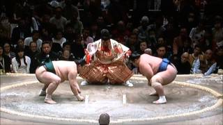 SUMO Jan.Stage 2day 平成29年大相撲初場所2日目 2017年1月9日.
