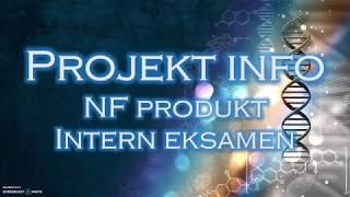 NF projekt og intern eksamen