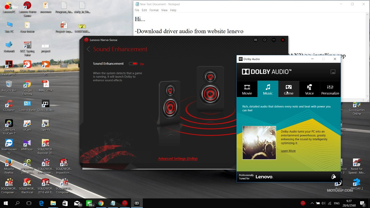 Dalby Audio driver dax2 for Y520