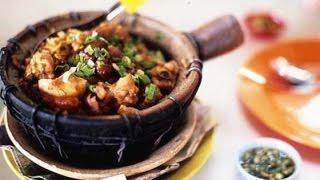 麻油雞酒鍋 Clay Pot Chicken in Glutinous Rice Wine | Chicken with Ginger and Rice Wine