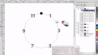 Видеоурок CorelDRAW. Привязка к объектам