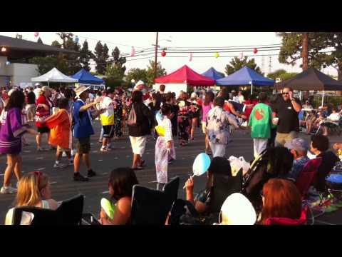 """""""Obon no Uta"""" Dance, OCBC 2013 Obon Festival"""