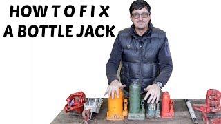 How To Fix A Bottle Jack Like A Pro