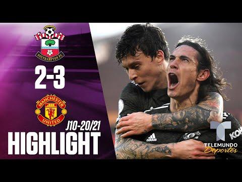 Highlights & Goals | Southampton vs. Man United 2-3 | Telemundo Deportes