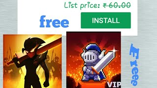 Top 2 paid game free on Playsotre