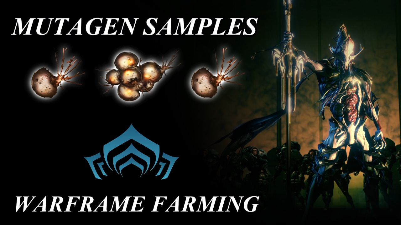 Warframe (Solo) Farming - Mutagen Samples (2017) - YouTube