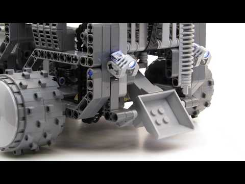 Lego Lunar Rover Drill and Shovel!