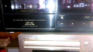 Sony TA-F235R Amplifier & PIONEER Stereo Cassette Deck CT-449