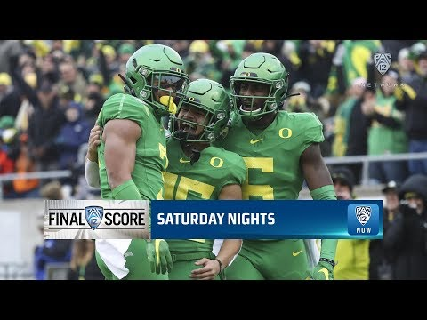 No. 14 Oregon Grinds Out Civil War Win In Regular-season Finale