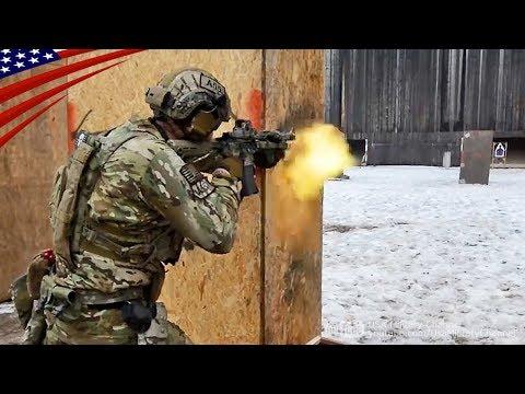 特殊部隊グリーンベレーのタクティカル射撃訓練