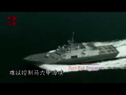 China Propaganda calling Singapore yellow skin black heart!!