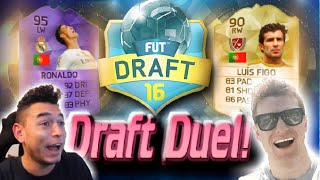 FIFA 16 - INSANE FUT DRAFT DUEL!! (FIFA 16 DRAFT MODE)