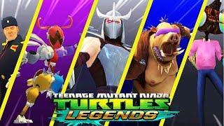 ЧЕРЕПАШКИ НИНДЗЯ ЛЕГЕНДЫ СОСТАВЫ ПОДПИСЧИКОВ ГЕЙМПЛЕЙ ПРОХОЖДЕНИЕ 2020 мобильная игра TMNT Legends