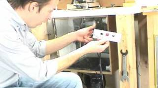 Part 2- Motorized Router Lift Wiring - Wiring Cont. And Control Panel