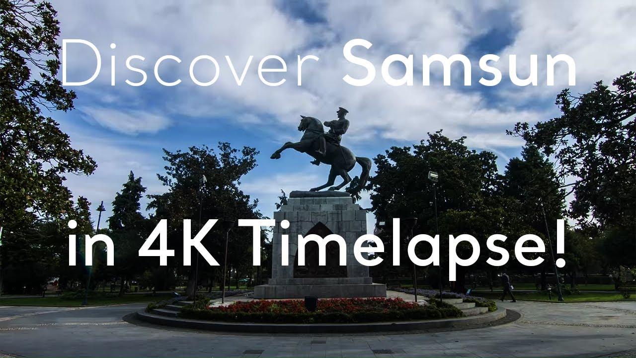 Go Turkey - Discover Samsun in 4K Timelapse!