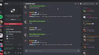 #musicbot spam   Discord 10 4 2018 1 23 51 AM