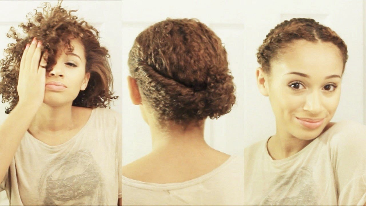 10 Hairstyles For Short Curly Hair Youtube