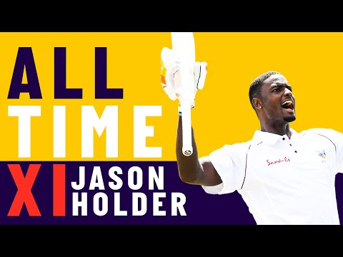 Tendulkar, Kallis & Ambrose - Jason Holder's All Time XI
