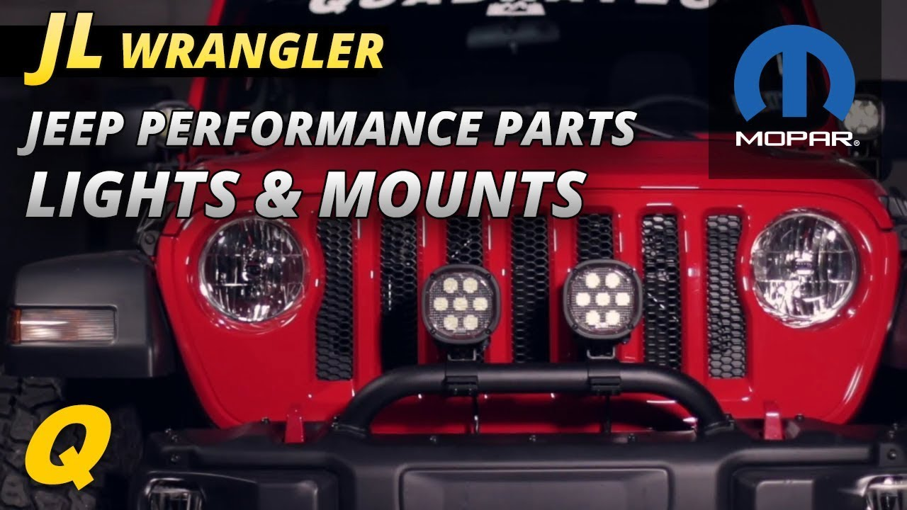 Best Mopar Jeep Performance Parts Lights and Light Mounting