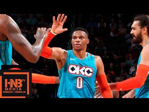 Oklahoma City Thunder vs Atlanta Hawks Full Game Highlights | 11.30.2018, NBA Season