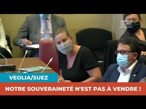 VEOLIA/SUEZ : NOTRE SOUVERAINETÉ N'EST PAS À VENDRE !