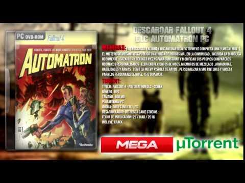 DESCARGAR Fallout 4 DLC Automatron PC TORRENT POR MEGA