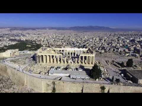 Acropolis - Parthenon - Athens, Greece 4K