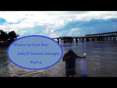 Where To Cast Net: Jekyll Island, GA (P2)